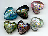 Large Chunky 35 Mill Heart - Ref: 1531