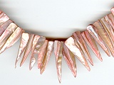 Oyster Pink Sharks Tooth Shell - Ref: 729